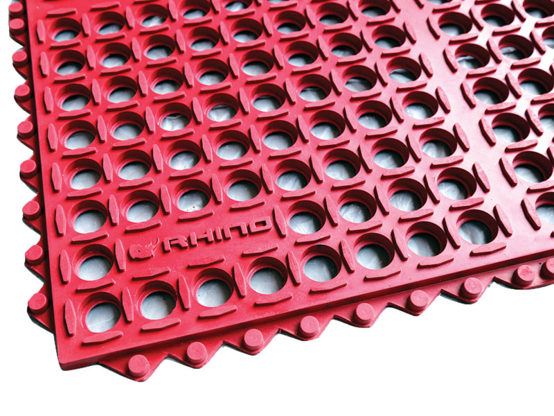 red water drainage matting